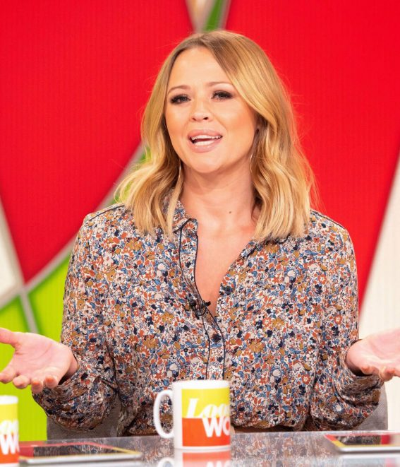 Kimberley Walsh at Loose Women TV Show in London 2018/07/17 1
