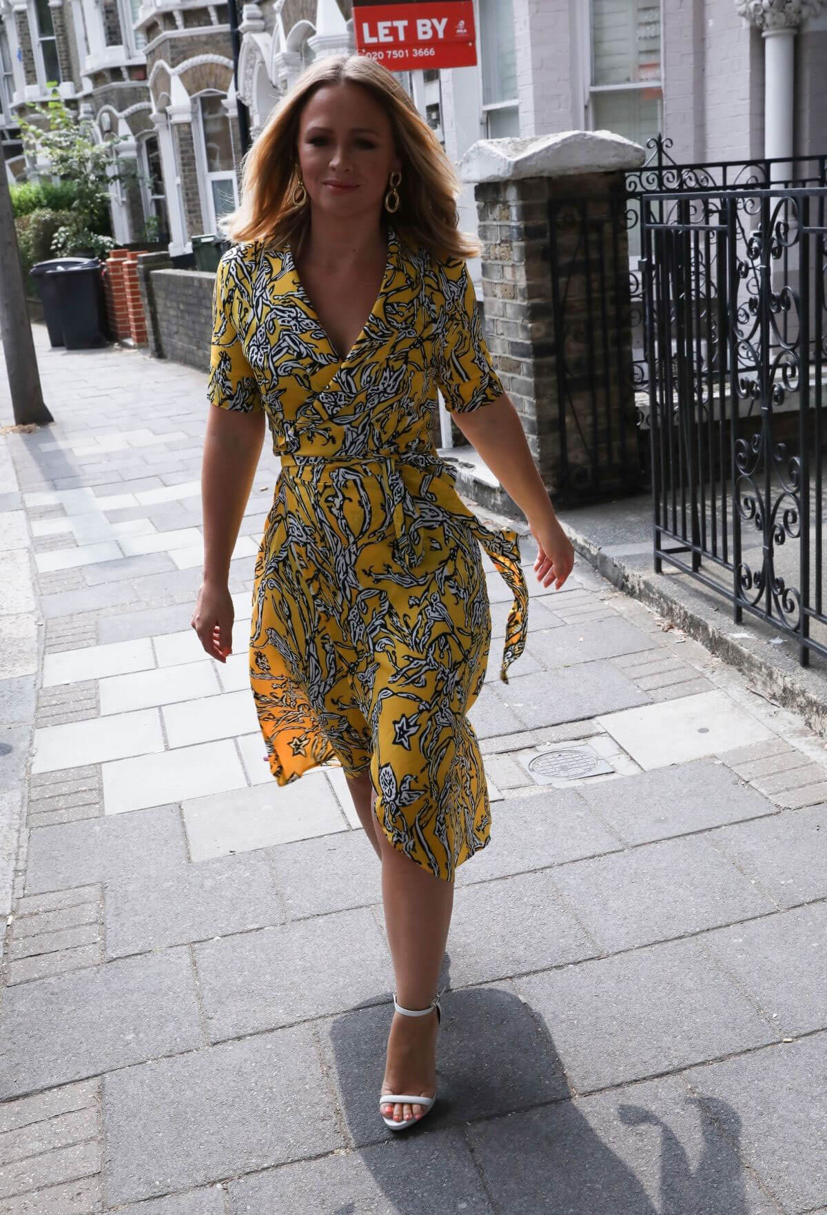 Kimberley Walsh Out and About in London 2018/07/14 1
