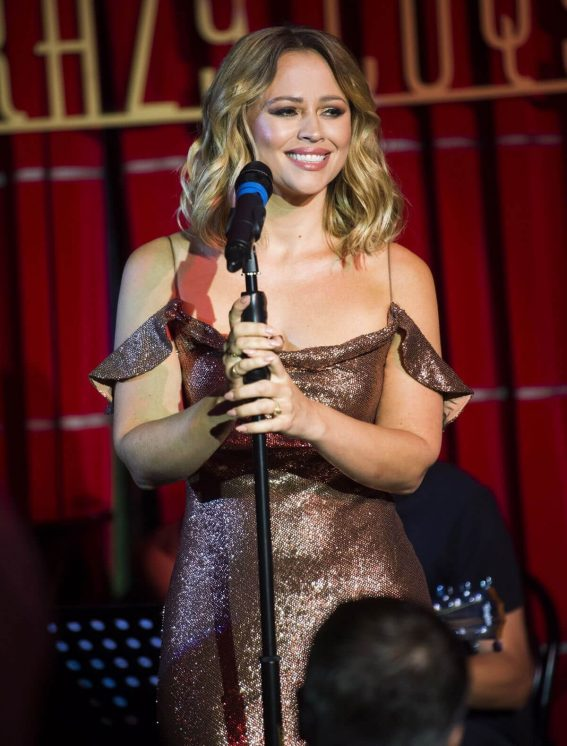 Kimberley Walsh Performs at Crazy Coqs in Central London 2018/07/23 1