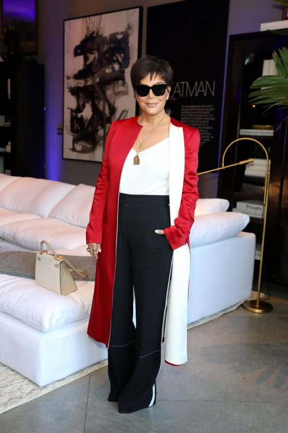 Kris Jenner at Restoration Hardware x General Public Launch in Los Angeles 2018/06/27 1