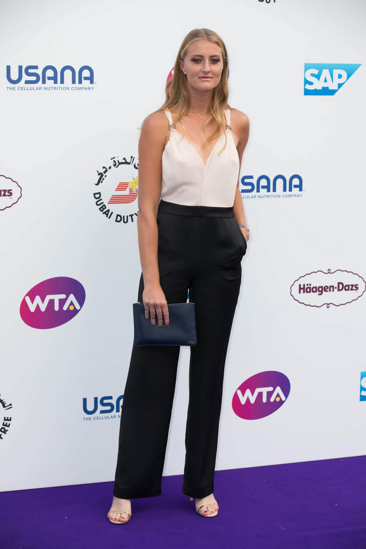 Kristina Mladenovic at WTA Tennis on the Thames Evening Reception in London 2018/06/28 1