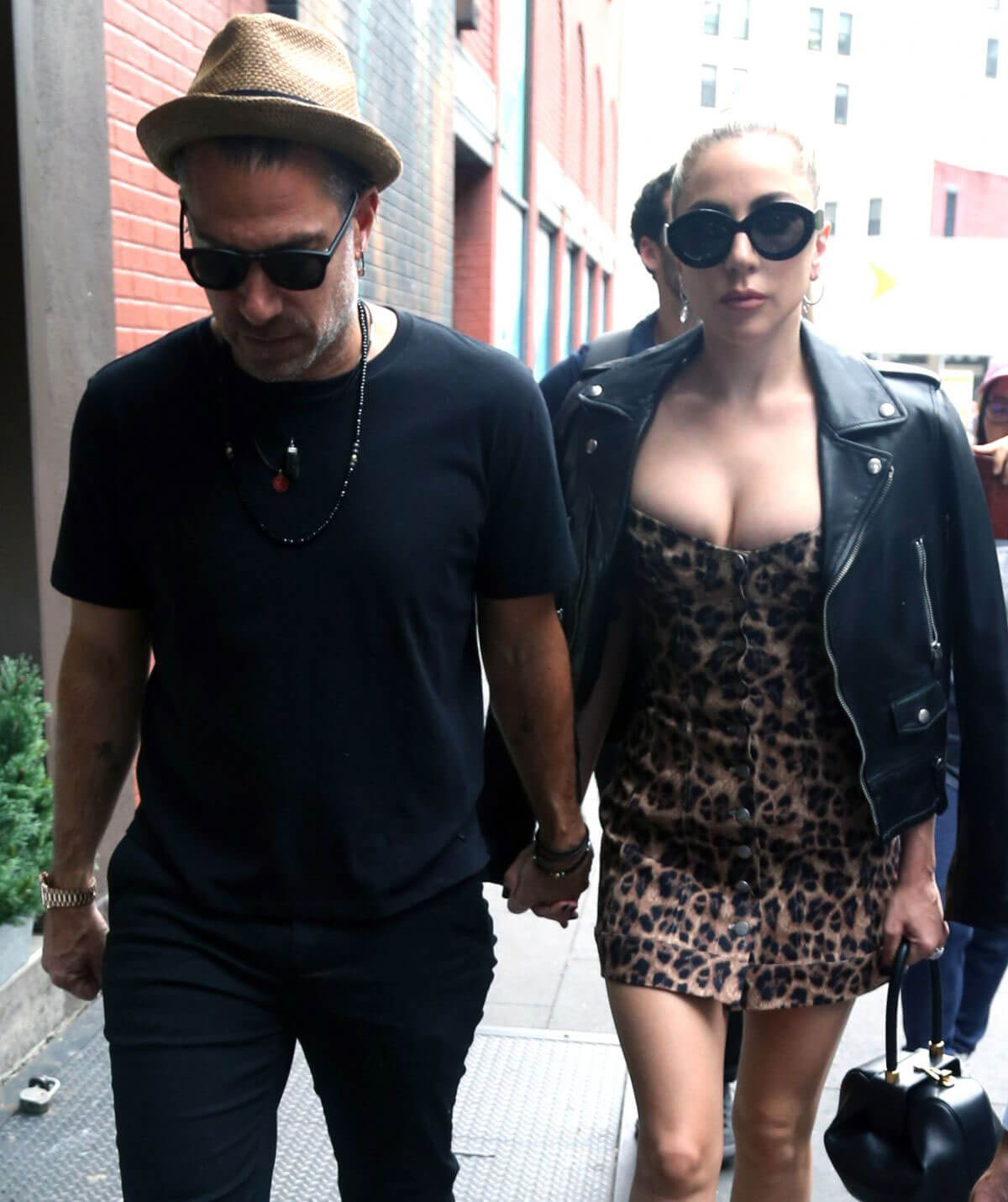 Lady Gaga and Christian Carino Out in New York 2018/06/28 1