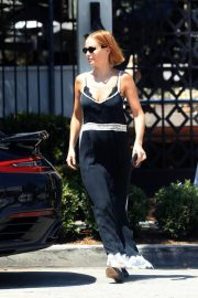 Lara Bingle at Gracias Madre in West Hollywood 2018/07/24 2
