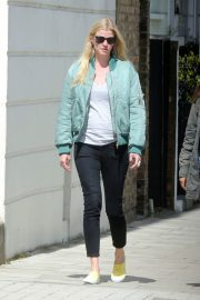 Lara Stone Out in London 2018/05/13 9
