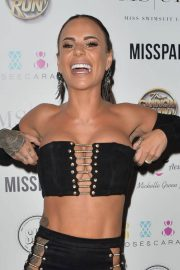 Laura Carter, Helen Briggs, Chantelle Connelly, Sally Jane Beech  and Georgia Clarke at Miss Swimsuit UK Auditions in Leeds 2018/05/20 12