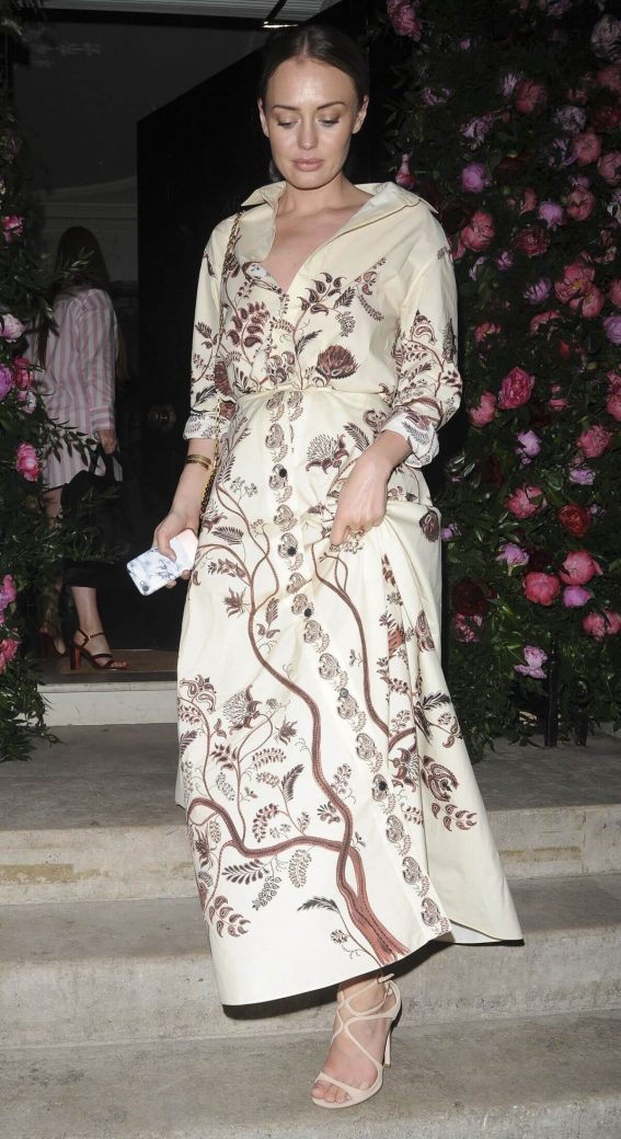 Laura Haddock at Annabels x Dior Dinner in London 2018/05/21 1