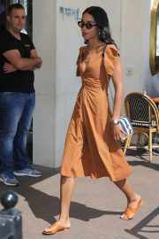 Laura Harrier Leaves Hotel Martinez in Cannes 2018/05/12 1