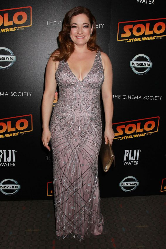Laura Michelle Kelly at Solo: A Star Wars Story Premiere After-party in New York 2018/05/21 1