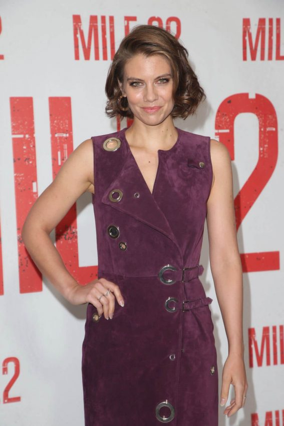 Lauren Cohan at Mile 22 Photocall in Los Angeles 2018/07/28 1