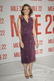Lauren Cohan at Mile 22 Photocall in Los Angeles 2018/07/28 4