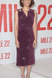Lauren Cohan at Mile 22 Photocall in Los Angeles 2018/07/28 8