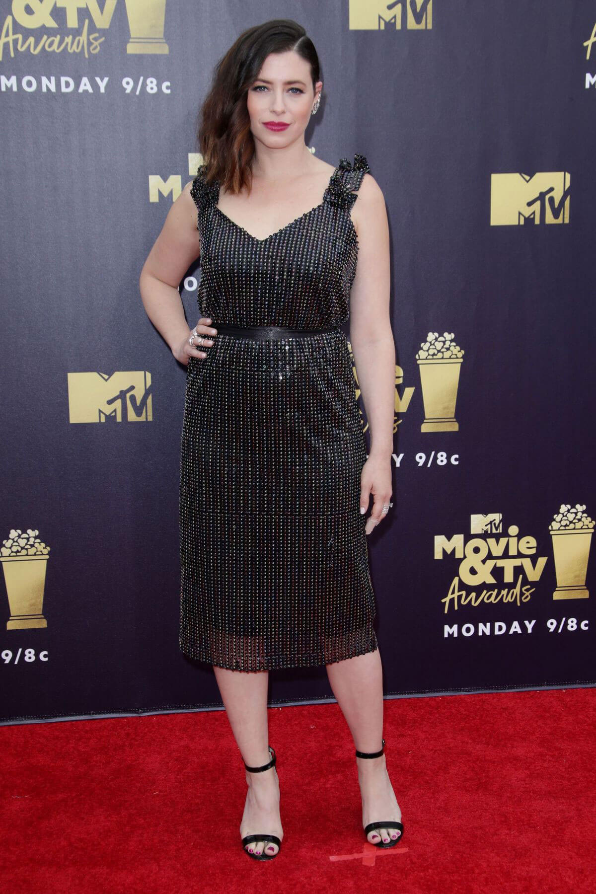 Lauren Miller at 2018 MTV Movie and TV Awards in Santa Monica 2018/06/16 1