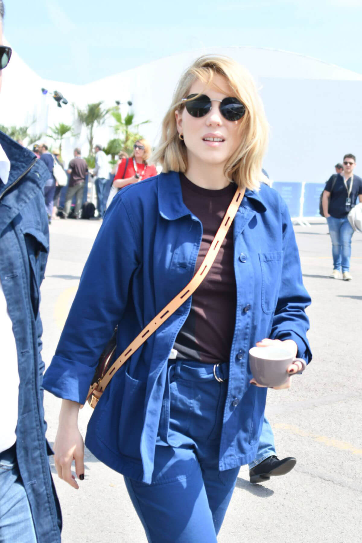 Lea Seydoux Out and About in Cannes 2018/05/10 1