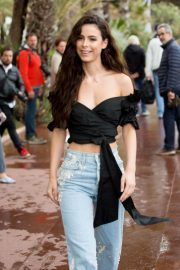 Lena Meyer Landrut Out on Croisette in Cannes 2018/05/14 1