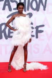 Leomie Anderson at Fashion for Relief at 2018 Cannes Film Festival 2018/05/13 2