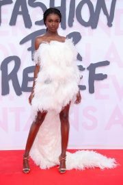 Leomie Anderson at Fashion for Relief at 2018 Cannes Film Festival 2018/05/13 3