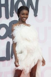 Leomie Anderson at Fashion for Relief at 2018 Cannes Film Festival 2018/05/13 4