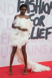 Leomie Anderson at Fashion for Relief at 2018 Cannes Film Festival 2018/05/13 5
