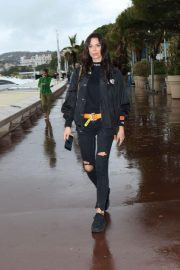 Liliana Nova Out on Croisette in Cannes 2018/05/13 2