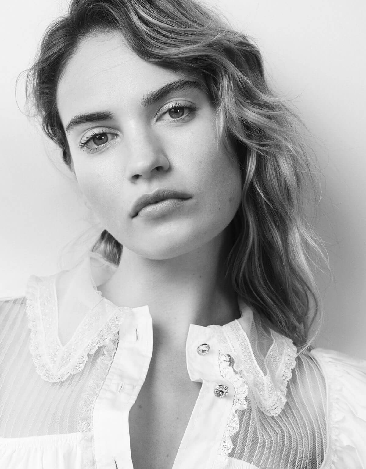 Lily James for Vanity Fair Magazine, Italy August 2018 Issue 1