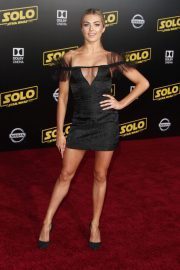 Lindsay Arnold at Solo: A Star Wars Story Premiere in Los Angeles 2018/05/10 2