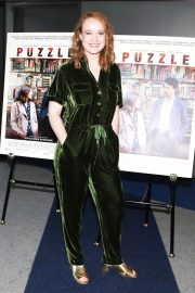Liv Hewson at Puzzle Premiere at Writers Guild Theater in Los Angeles 2018/07/16 7