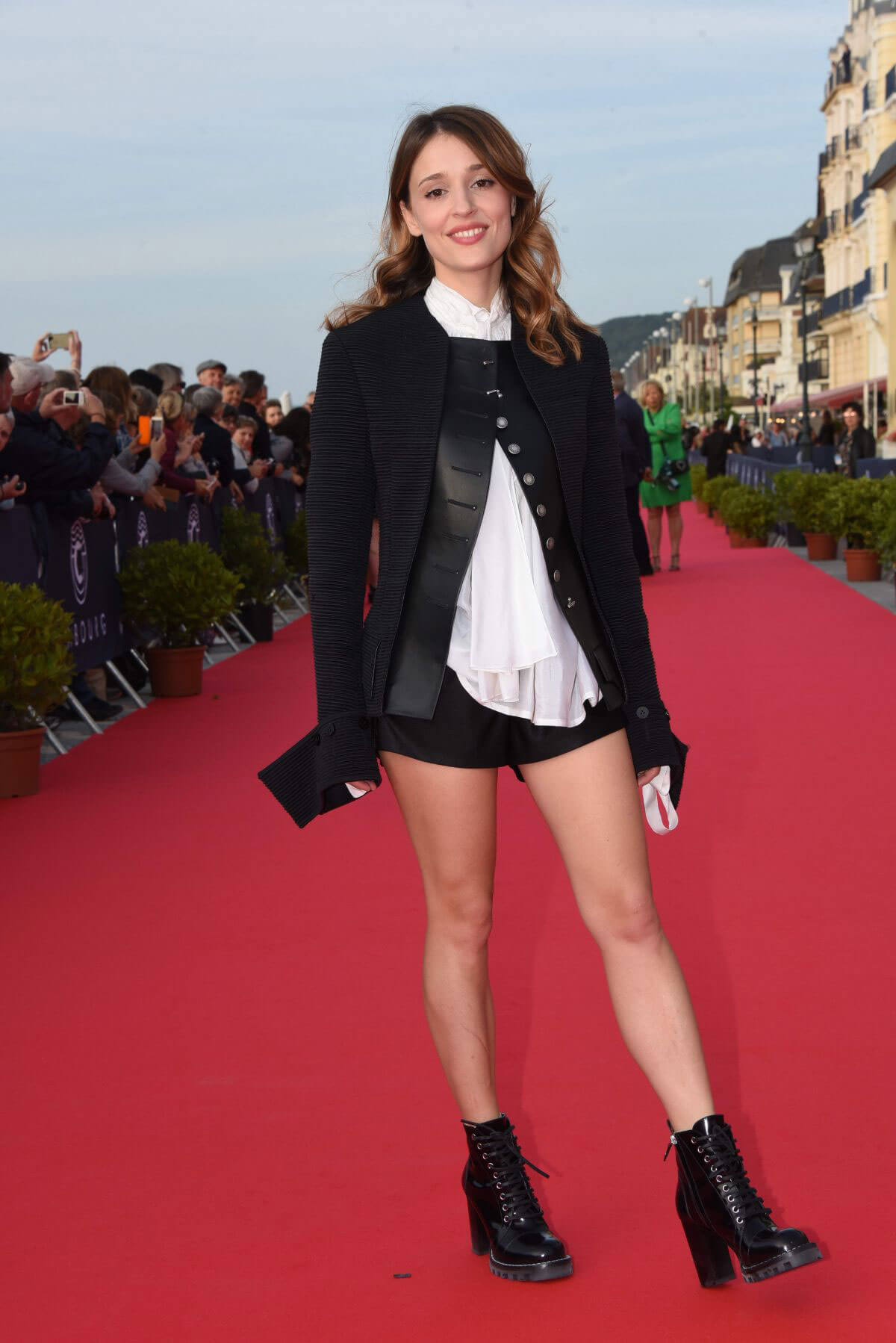 Lola Bessis at 32nd Cabourg Film Festival 2018/06/15 1