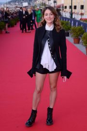 Lola Bessis at 32nd Cabourg Film Festival 2018/06/15 10
