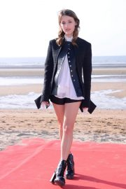 Lola Bessis at 32nd Cabourg Film Festival 2018/06/15 16