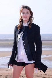 Lola Bessis at 32nd Cabourg Film Festival 2018/06/15 18