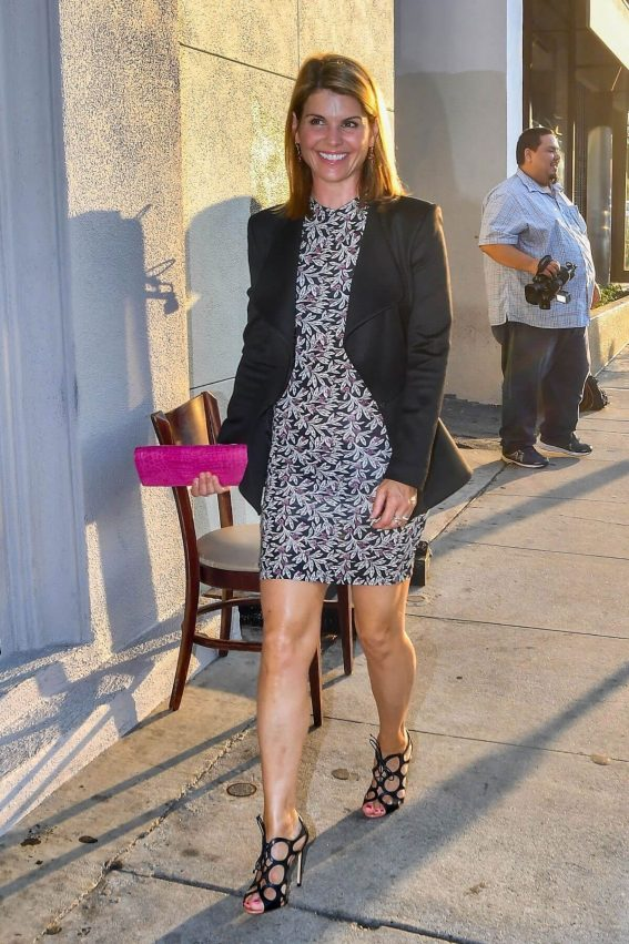 Lori Loughlin Celebrates Her Birthday at Craig's in West Hollywood 2018/07/28 1
