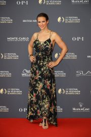 Lorie Pester at 58th International Television Festival Opening Ceremony in Monte Carlo 2018/06/15 2