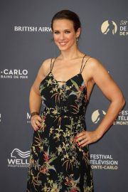 Lorie Pester at 58th International Television Festival Opening Ceremony in Monte Carlo 2018/06/15 9