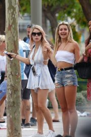 Lottie Moss and Tina Stinnes Out in Barcelona 2018/06/13 1