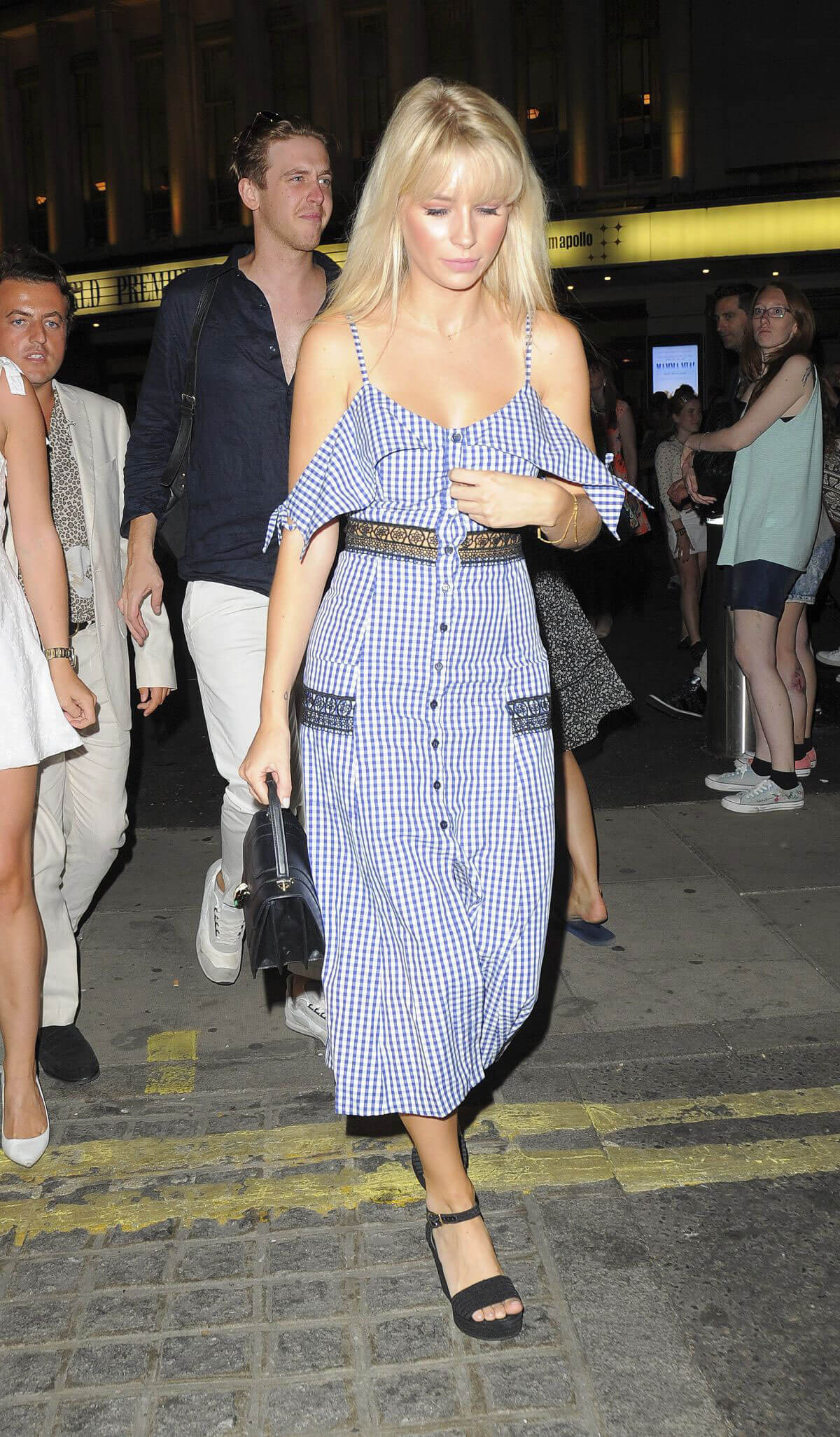 Lottie Moss Out and About in London 2018/07/16 1