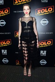Louisa Warwick at Solo: A Star Wars Story Premiere in New York 2018/05/21 1