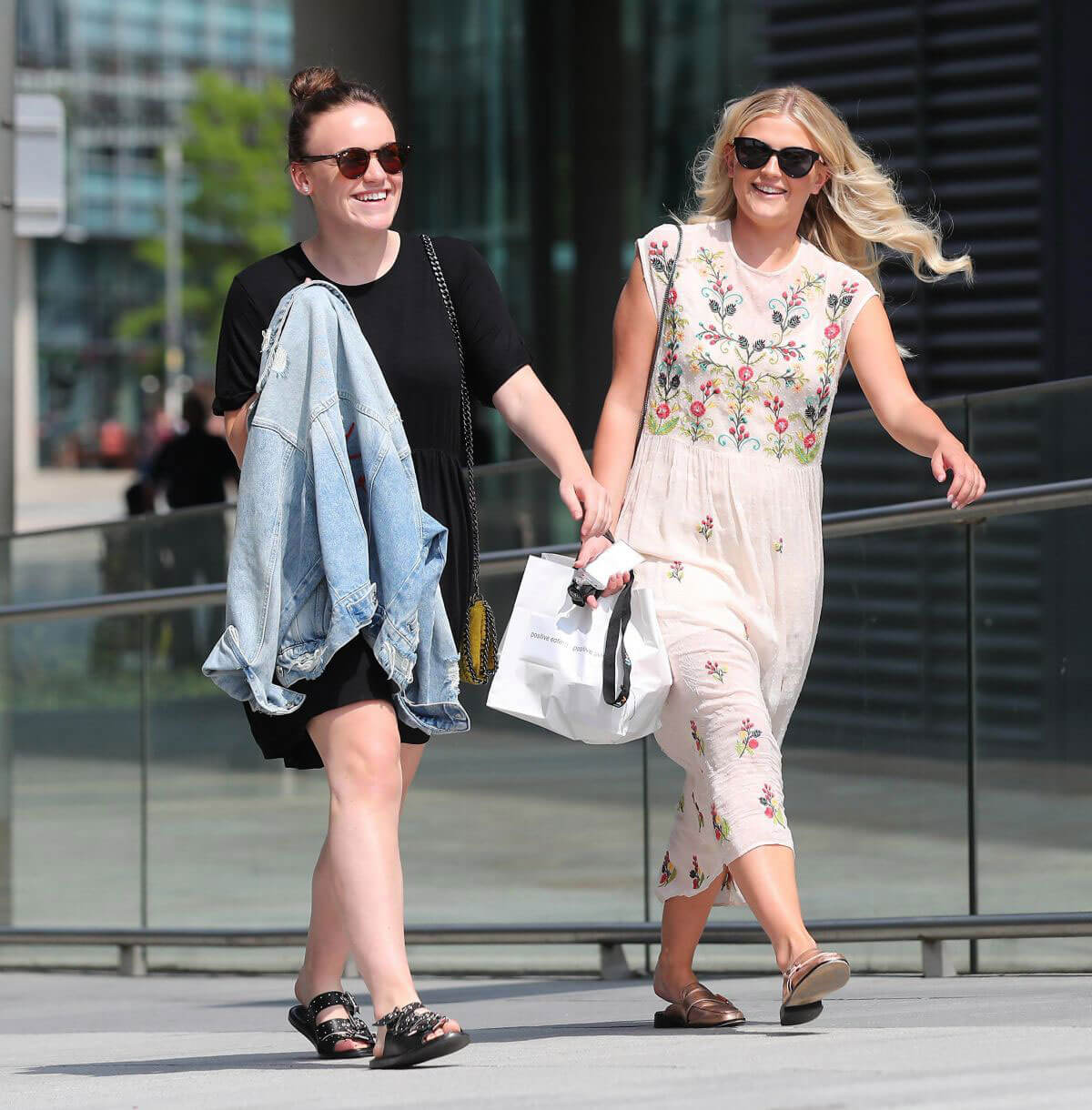 Lucy Fallon and Ellie Leach Out in Manchester 2018/05/21 3
