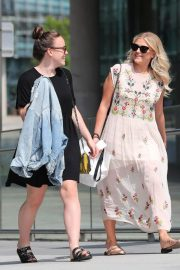 Lucy Fallon and Ellie Leach Out in Manchester 2018/05/21 14