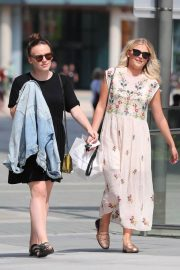 Lucy Fallon and Ellie Leach Out in Manchester 2018/05/21 15