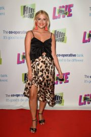 Lucy Fallon at Hits Radio Live at Manchester Arena 2018/07/14 11