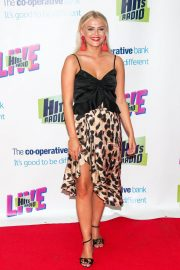 Lucy Fallon at Hits Radio Live at Manchester Arena 2018/07/14 12