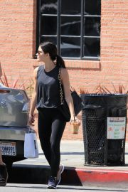 Lucy Hale Leaves Joans on Third in Studio City 2018/06/29 10
