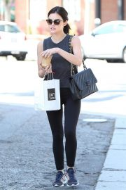 Lucy Hale Leaves Joans on Third in Studio City 2018/06/29 12