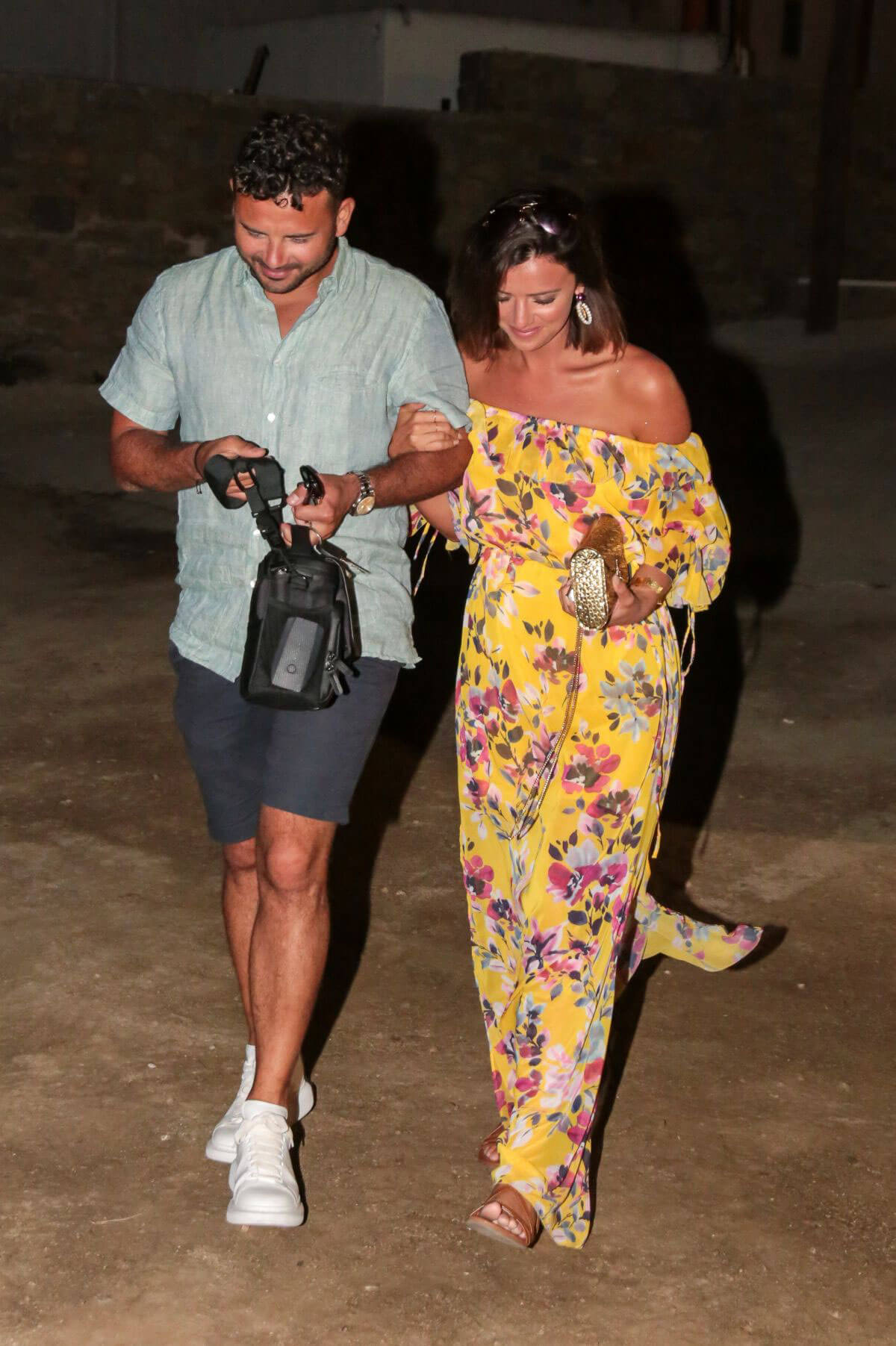 Lucy Mecklenburgh and Ryan Thomas Night Out in Mykonos 2018/06/24 1