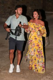 Lucy Mecklenburgh and Ryan Thomas Night Out in Mykonos 2018/06/24 2