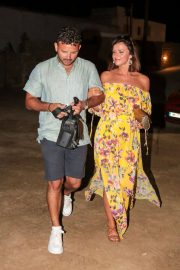 Lucy Mecklenburgh and Ryan Thomas Night Out in Mykonos 2018/06/24 5