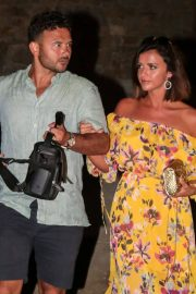 Lucy Mecklenburgh and Ryan Thomas Night Out in Mykonos 2018/06/24 6