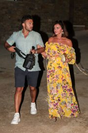 Lucy Mecklenburgh and Ryan Thomas Night Out in Mykonos 2018/06/24 8