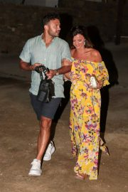 Lucy Mecklenburgh and Ryan Thomas Night Out in Mykonos 2018/06/24 9