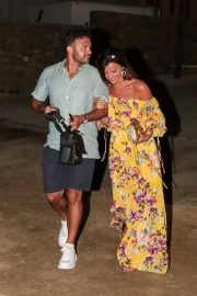 Lucy Mecklenburgh and Ryan Thomas Night Out in Mykonos 2018/06/24 10